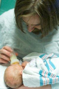 Baby Emily, Nellie, Jerri and Steve 9